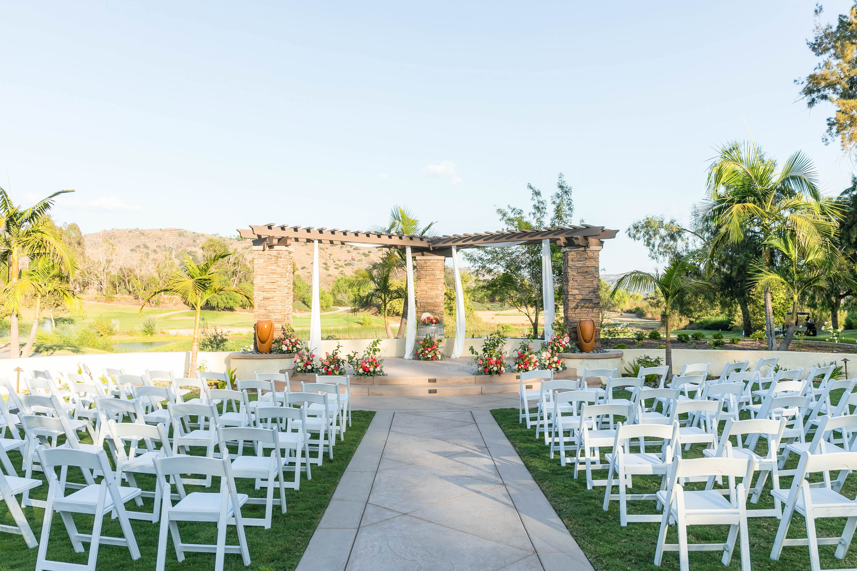 Ceremony Site - Fallbrook - Fallbrook, California - San Diego County - Wedgewood Weddings