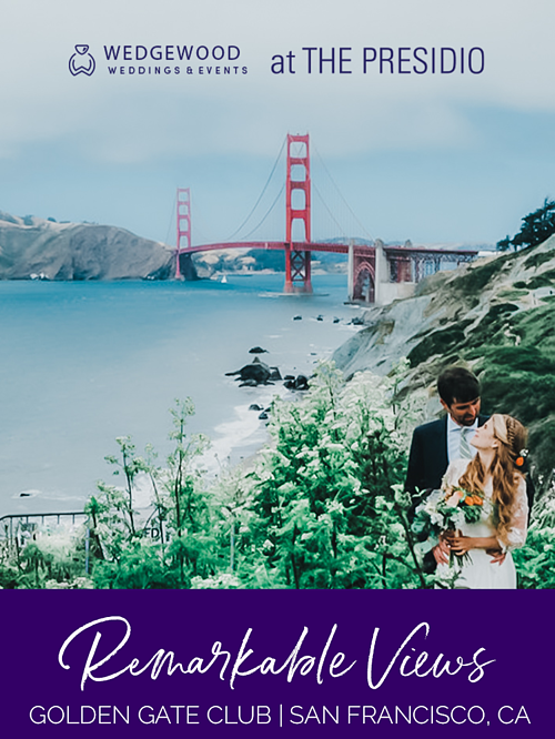 Golden Gate Bridge views make this site the envy of all of San Francisco. The club is at the heart of the Presidio National Park, near numerous attractions. Guests enjoy events of all styles here for the beauty, history, convenience and...
