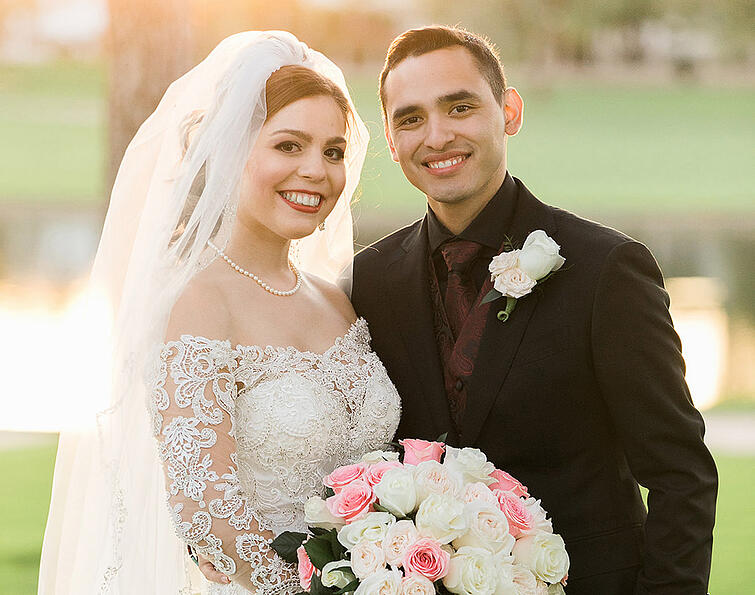 Hannah & Isaiah's Beautiful Wedding at Ocotillo Oasis | Tara Nichole Photo