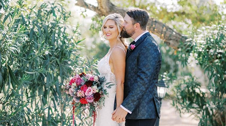 Harvey and Sarahs sunny spring time wedding at Lindsay Grove by Wedgewood Weddings in Arizona