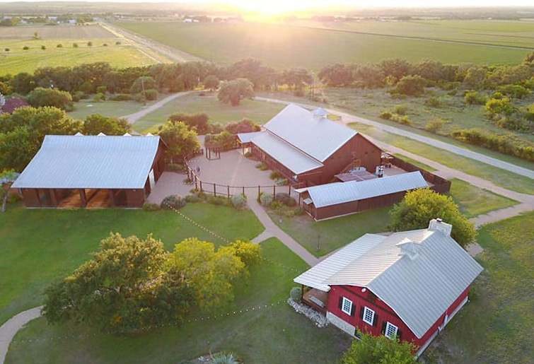 Hofmann Ranch by Wedgewood Weddings - Bird's Eye View