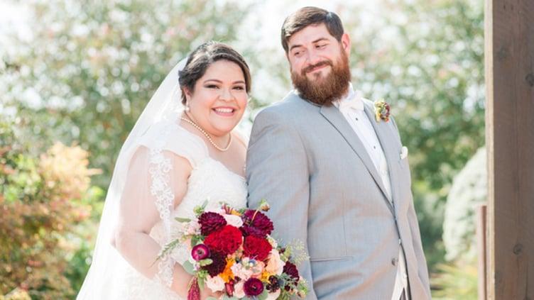 Glowing Bride & Groom Hofmann Ranch in Castroville, TX