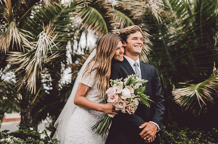 Our Colby Falls wedding venue looks tropical year round!