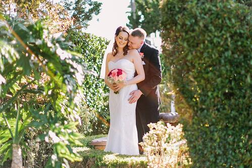 Bride and Groom - Indian Hills - Riverside, California - Riverside County - Wedgewood Weddings