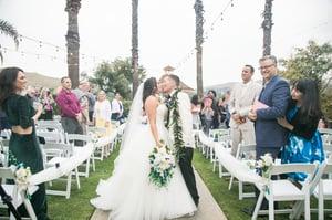 Newlyweds - Indian Hills - Riverside, California - Riverside County - Wedgewood Weddings