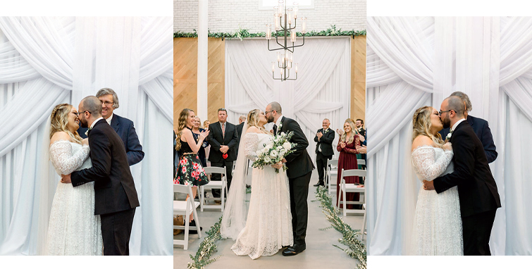 Katie and Josh Wedding Ceremony at Carlsbad Windmill by Wedgewood Weddings