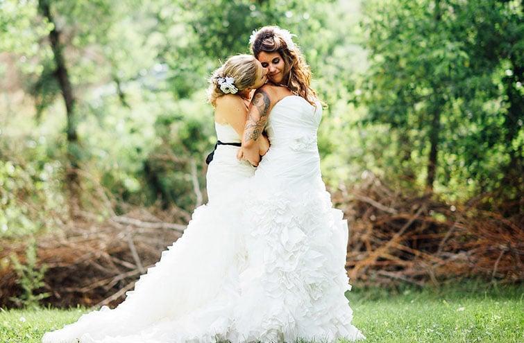 Gorgeous Lesbian Wedding - Wedgewood Weddings