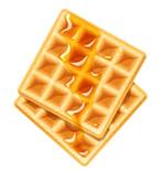 Crispy, chewy, delicious waffles