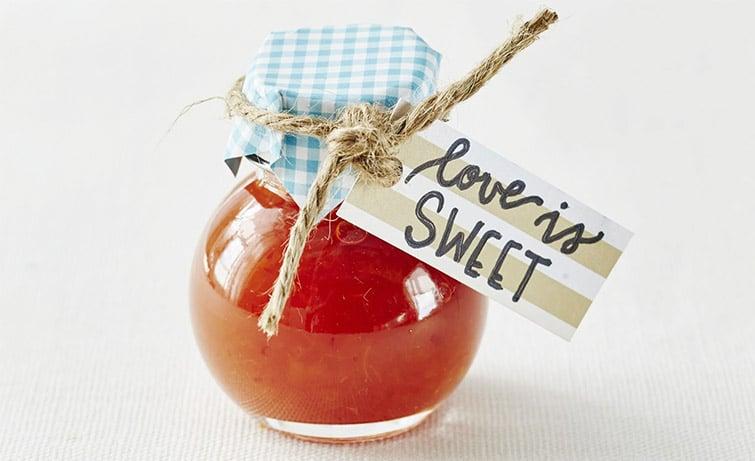 Love Is Sweet Wedding Favor Idea