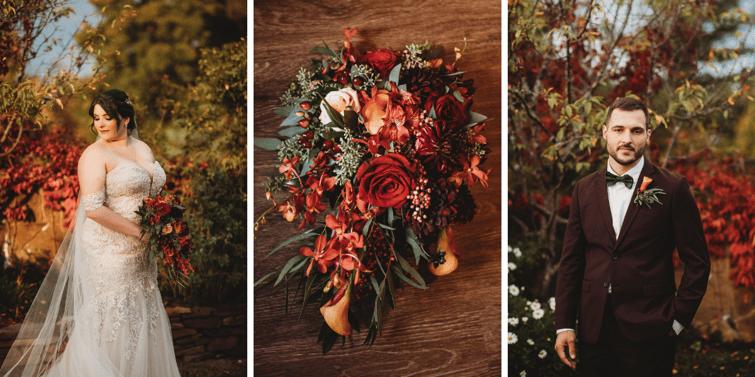 Charming Fall Details, Bride, Groom | Fall Wedding | Madison & Tyler's Wedding at Granite Rose