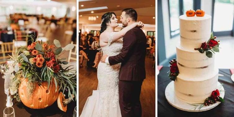 Fall Wedding Details for Madison & Tyler's Wedding at Granite Rose