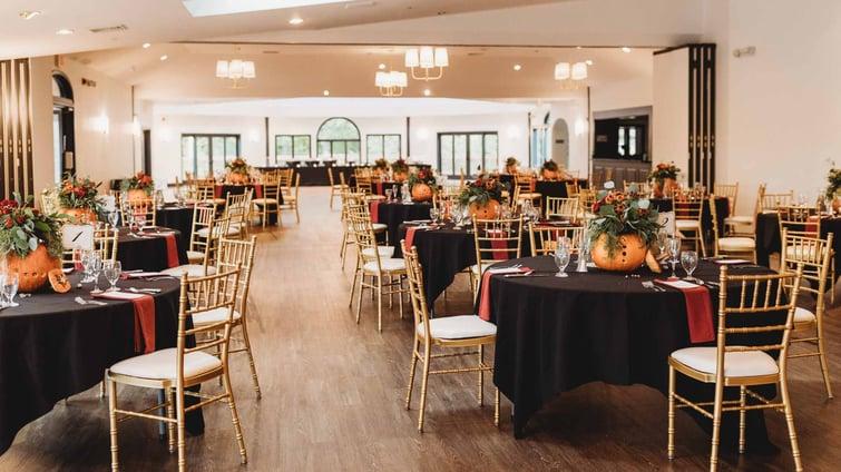 Stunning Fall Reception Decor - Granite Rose by Wedgewood Weddings