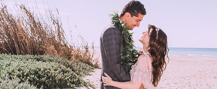 Majeed and Nani-Beach Ceremony at Pacific View by Wedgewood Weddings