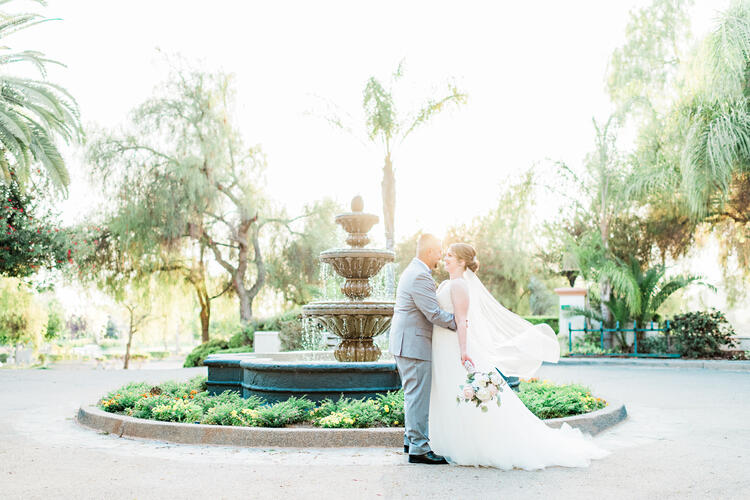 Spring wedding at Menifee Lakes by Wedgewood Weddings