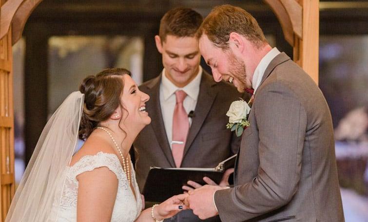 Mike and Megans Joyful Winter Wedding at Granite Rose by Wedgewood Weddings