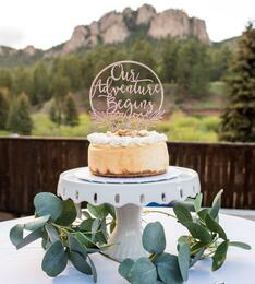 Rustic Wedding Cake - Mountain View Ranch - Wedgewood Weddings