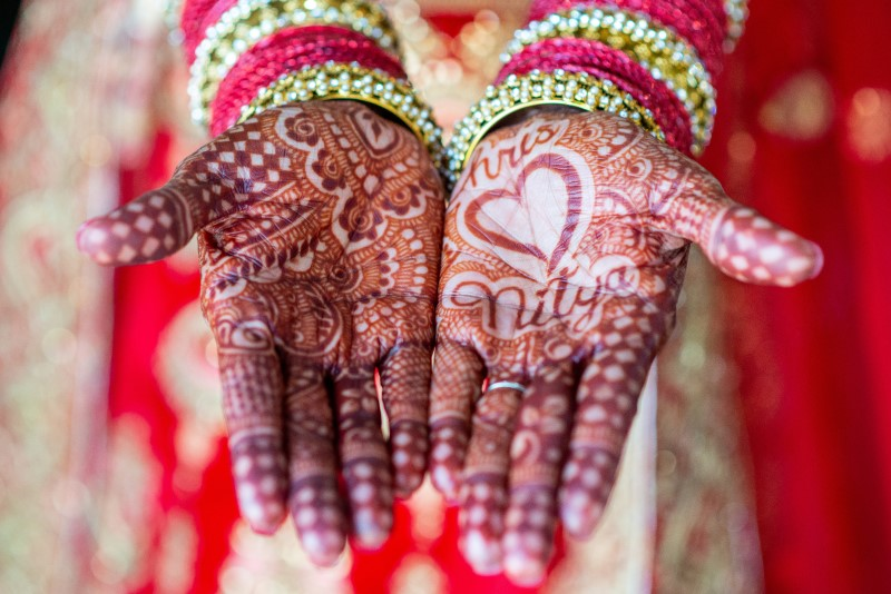 Nitya and Chris - Indian Fusion Wedding