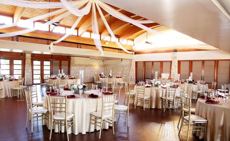 Our grand ballroom at Ocotillo Oasis in Phoenix, Arizona