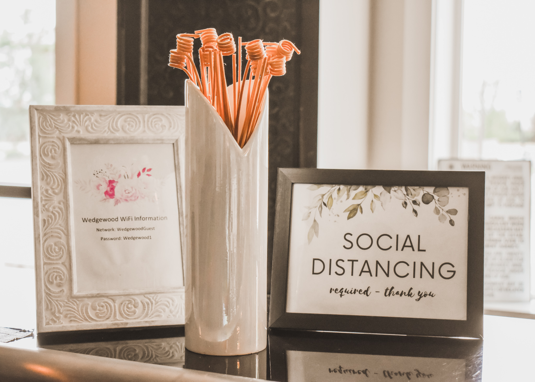 Wedding Safety With Social Distancing at Wedgewood Weddings