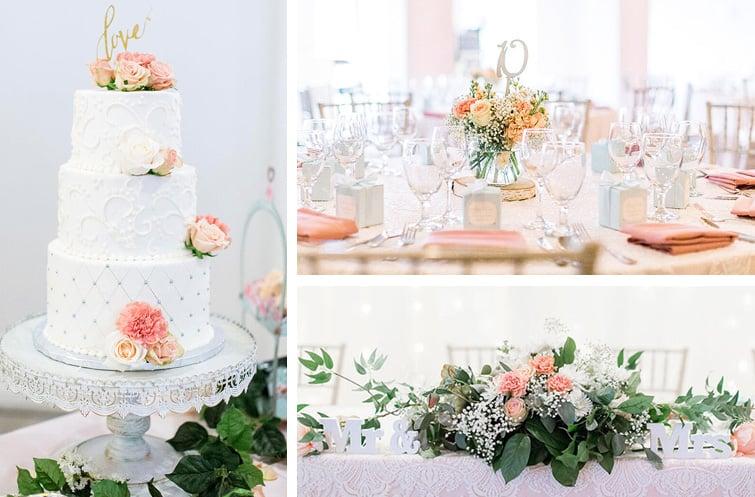 Pastel Wedding Theme Julie Vince Sequoia Mansion - Wedgewood Weddings