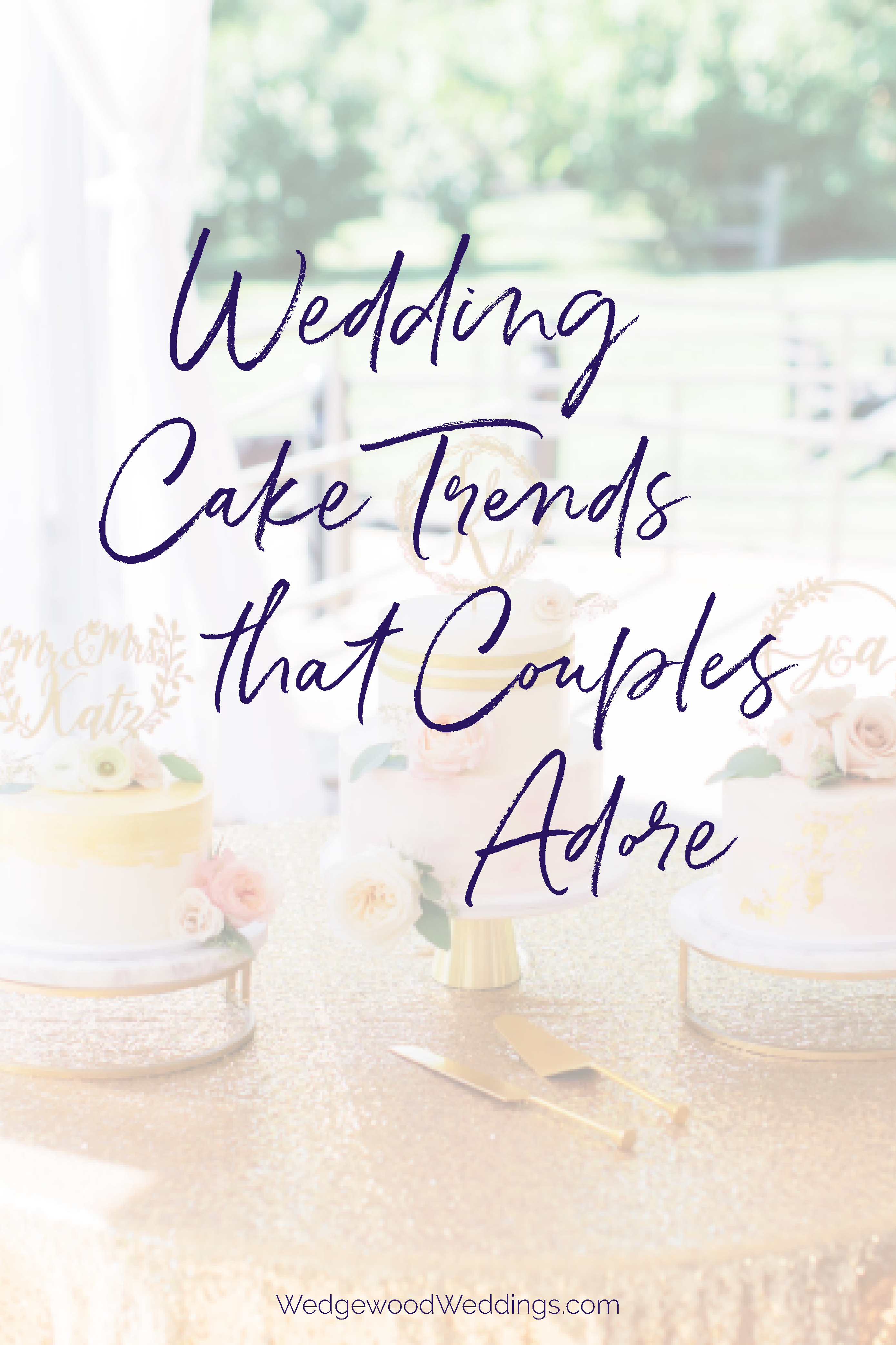 Wedding cake trends are exciting and fun. From frosting designs to various shapes to added accessories, there are a lot of elements that go into a cake's look. Fortunately, there are always a few options that will never go out of style. Refer to our guide of classic-style wedding cakes if 'tried and true' is more your vibe.