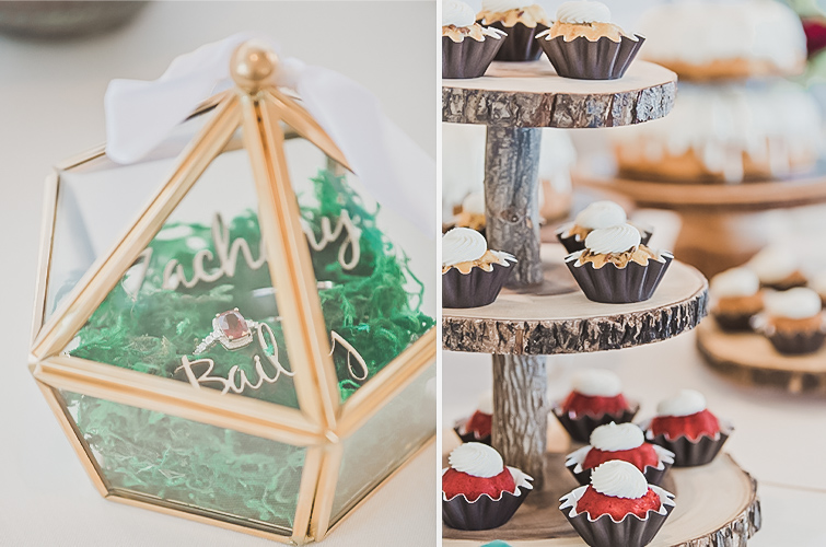 Bundtinis for Dessert at Brittany Hill by Wedgewood Weddings