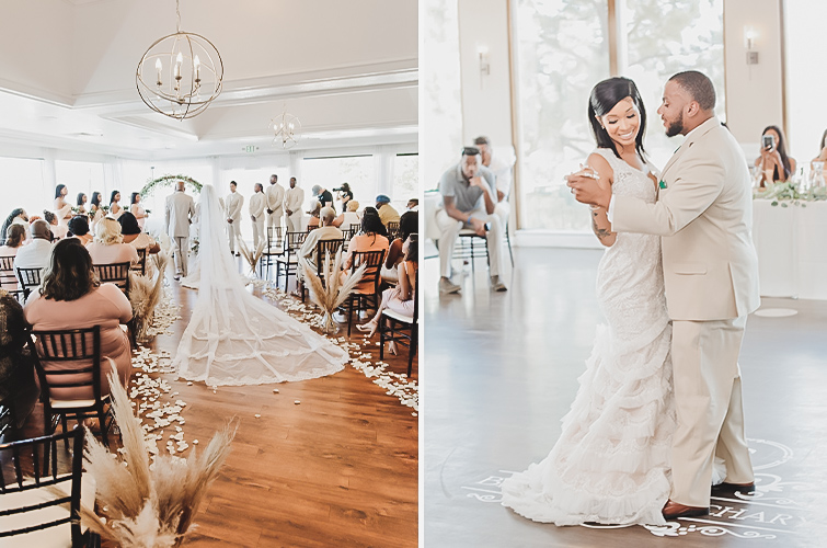 Intimate Wedding Moments at Brittany Hill by Wedgewood Weddings