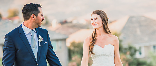 Stunning Wedding Couple at The Retreat in Corona, CA.