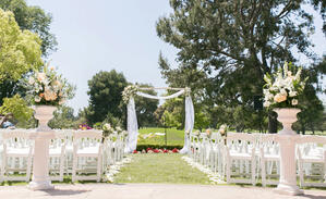 Ceremony Site - Rio Hondo - Downey, California - Los Angeles County - Wedgewood Weddings