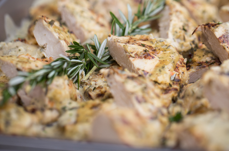 Rosemary and Herb Chicken -Wedding Menu Options - Wedegwood Weddings & Events