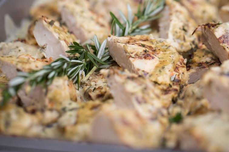 Rosemary and Herb Chicken -Wedding Menu Options - Wedegwood Weddings & Events
