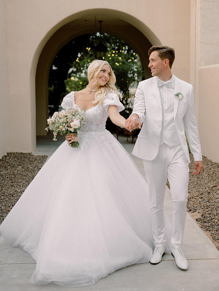 Insta-famous YouTube couple Rydel Lynch and Capron Funk Says 'I do' at Secret Garden by Wedgewood Weddings. Who are these love birds? Rydel Lynch and Capron Funk first began dating in 2019 as word of their love story took the YouTube world by storm. Rydel is most known for her time as a touring musician with R5/The Driver Era. Capron is a highly successful YouTuber and professional scooter rider. We were beyond thrilled when this happy couple chose Secret Garden by Wedgewood Weddings to host their beautiful wedding celebration. This wedding is truly one of a kind . . .