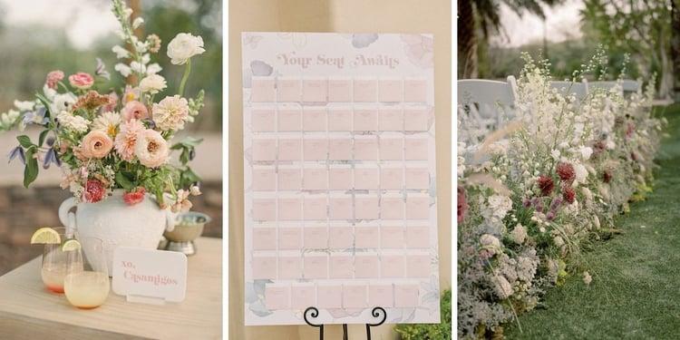 Stunning Fairytale Design Details at This Retro Wedding in Arizona