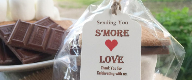 S'More Love Wedding Favor Idea