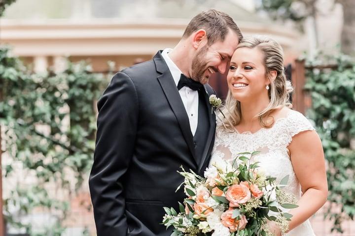 Newlyweds at Sterling Hotel by Wedgewood Weddings