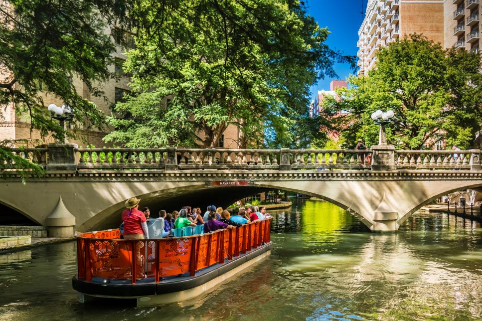 San Antonio River Walk near Hofmann Ranch Wedding Venue