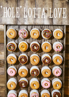 Self Serve Donut Wall