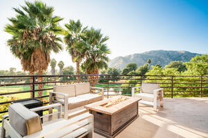 Cocktail Patio - Sierra La Verne - La Verne, California - Los Angeles County - Wedgewood Weddings