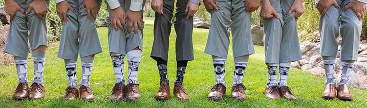 Star Wars Wedding Socks at Boulder Creek by Wedgewood Weddings