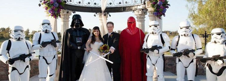 Starwars Wedding at Vellano Estate by Wedgewood Weddings