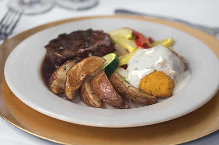 Steak with Cordon Bleu - Wedding Menu Options - Wedegwood Weddings & Events