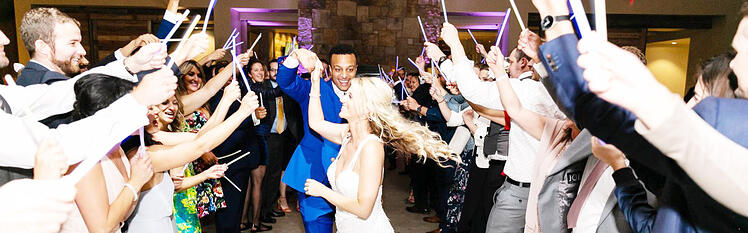THIS BALLROOM DANCE FLOOR IS PERFECT FOR A FUN-FILLED CELEBRATION