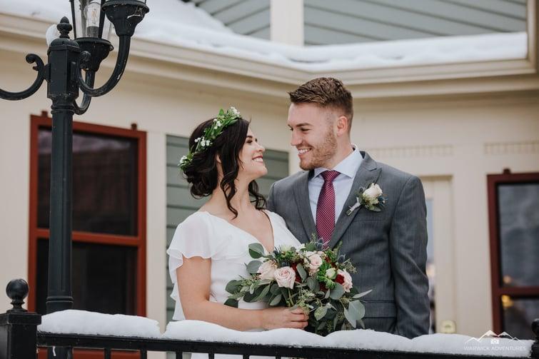 Happy Couple - Tapestry House - LaPorte, Colorado - Larimer County - Wedgewood Weddings