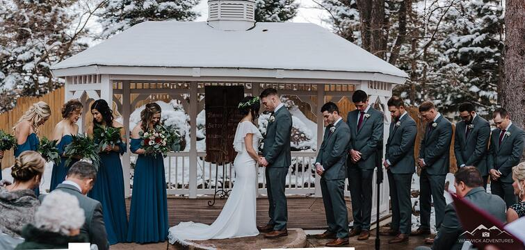 Ceremony - Tapestry House - LaPorte, Colorado - Larimer County - Wedgewood Weddings