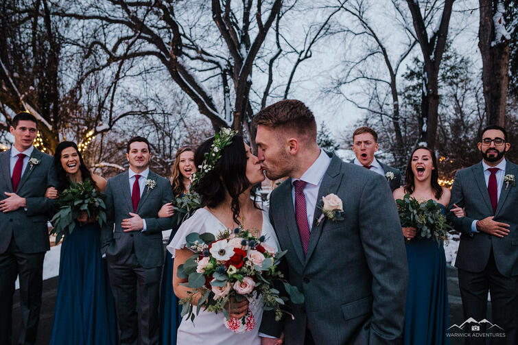 Kiss- Tapestry House - LaPorte, Colorado - Larimer County - Wedgewood Weddings
