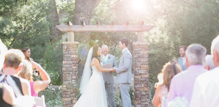 The Perfect Summer Evening Wedding at Boulder Creek by Wedgewood Weddings