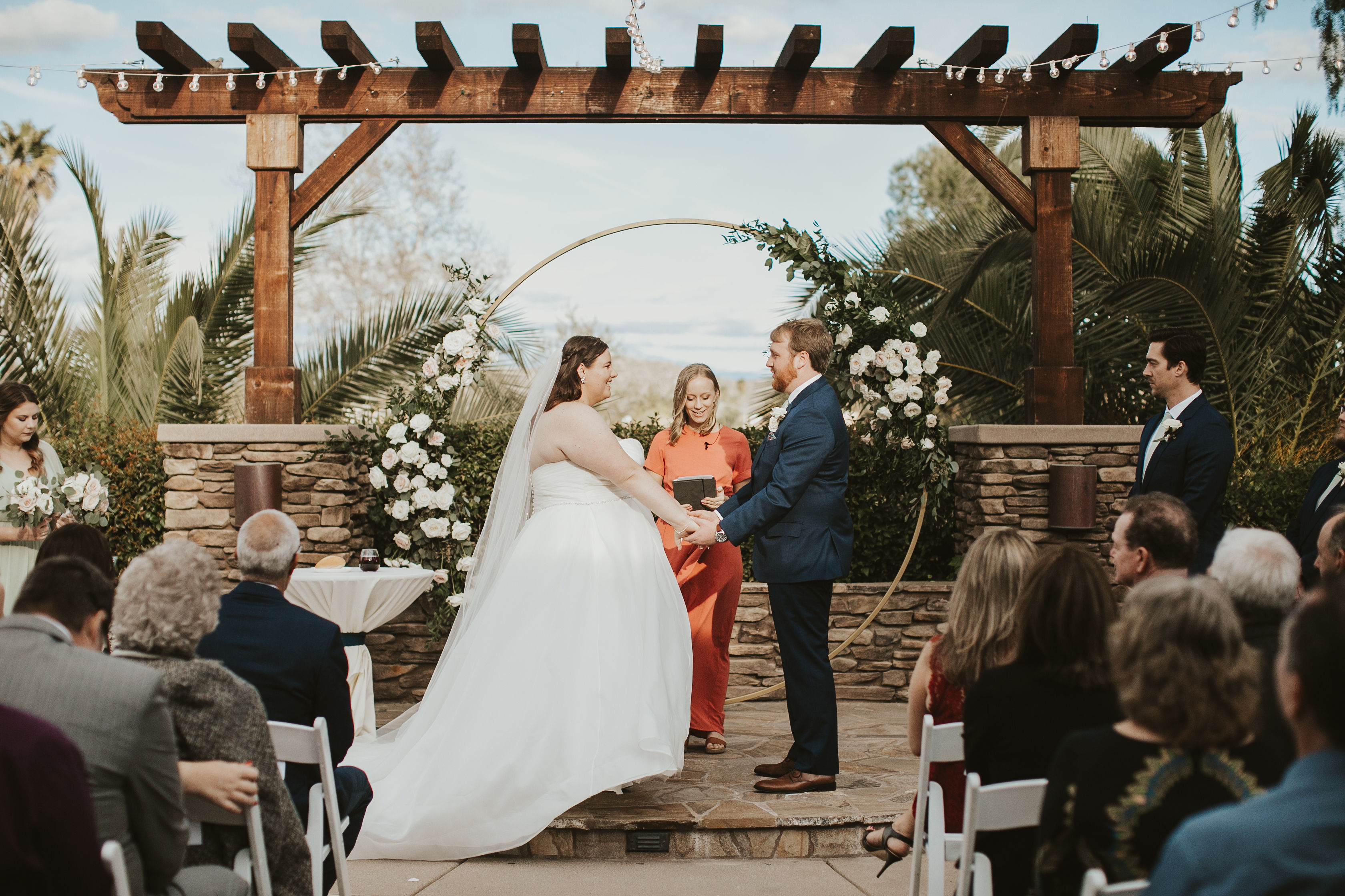 Romantic Wedding Ceremony | The Taylors | Menifee Lakes by Wedgewood Weddings