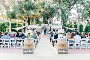Garden Ceremony - Pacific View Tower Club - Oxnard, California - Ventura County - Wedgewood Weddings