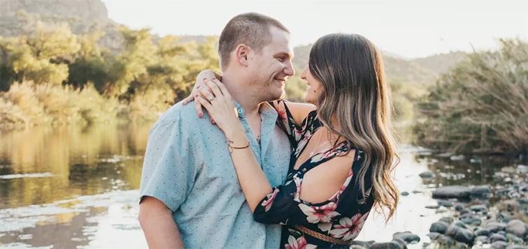 Troy & Katie's Engagement Photo ahead of their June 2020 Wedding with Wedgewood Weddings