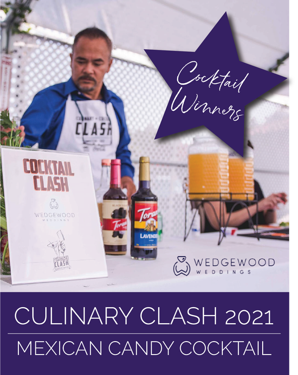 In the competitive 'Culinary Clash' featuring delicious and creative food and drink recipes, sponsors raise money and awareness to support California's high school culinary arts programs. Wedgewood Weddings team competed and proudly...